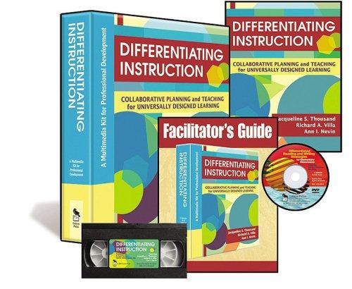 Differentiating Instruction (Multimedia Kit) (Hardcover): Ann I. Nevin