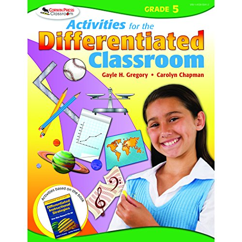 9781412953412: Activities for the Differentiated Classroom: Grade Five