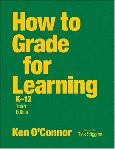 9781412953818: How to Grade for Learning, K-12