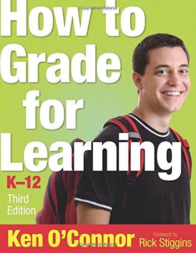 9781412953825: How to Grade for Learning, K-12 (Volume 3)