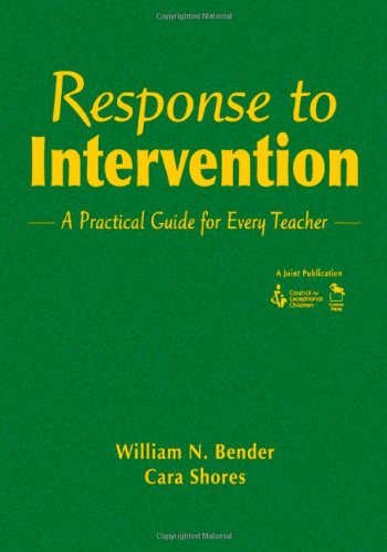 9781412953856: Response to Intervention: A Practical Guide for Every Teacher