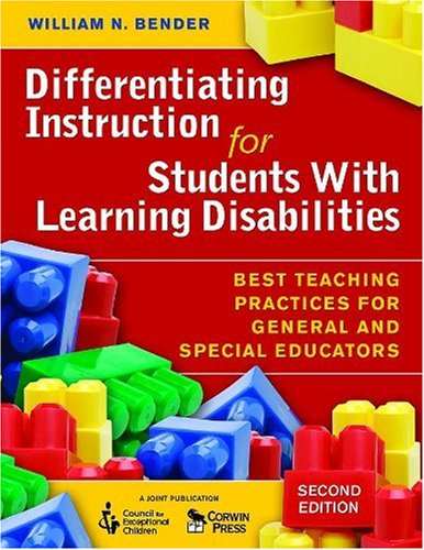 9781412954457: Differentiating Instruction for Students With Learning Disabilities: Best Teaching Practices for General and Special Educators