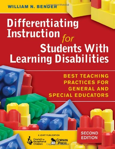 9781412954464: Differentiating Instruction for Students With Learning Disabilities: Best Teaching Practices for General and Special Educators