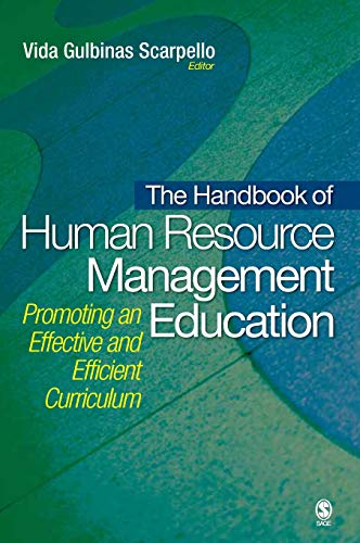 9781412954907: The Handbook of Human Resource Management Education: Promoting an Effective and Efficient Curriculum