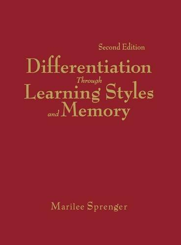 9781412955447: Differentiation Through Learning Styles and Memory