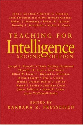 9781412955546: Teaching for Intelligence