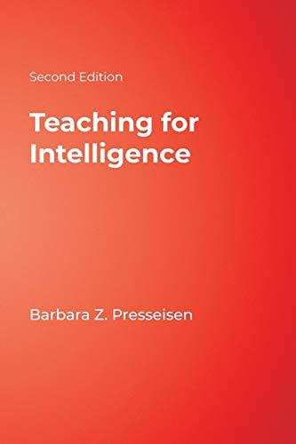 9781412955553: Teaching for Intelligence