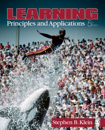 9781412956529: Learning: Principles and Applications