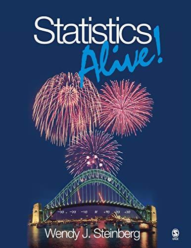 9781412956574: Statistics Alive!