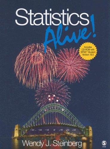 9781412956598: Statistics Alive!