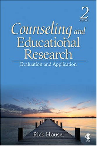 9781412956604: Counseling and Educational Research: Evaluation and Application