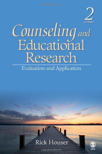 9781412956611: Counseling and Educational Research: Evaluation and Application