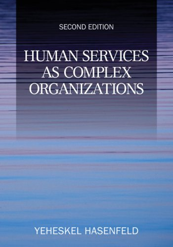 9781412956932: Human Services as Complex Organizations
