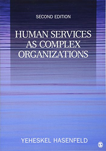 9781412956949: Human Services as Complex Organizations