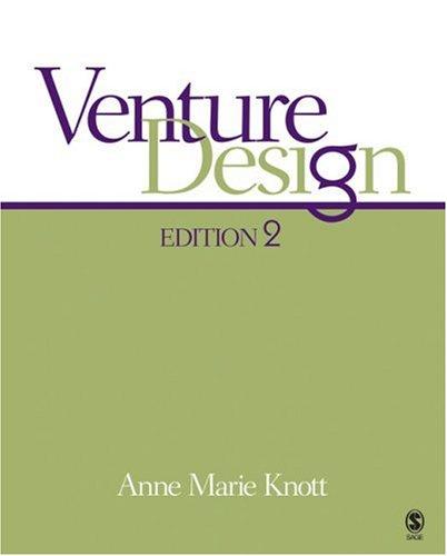 9781412957991: Venture Design