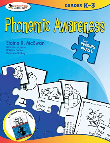 9781412958202: The Reading Puzzle: Phonemic Awareness, Grades K-3