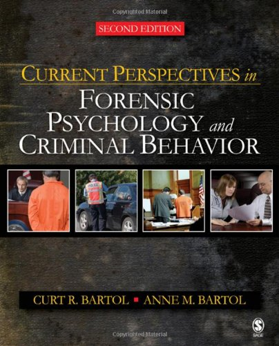 9781412958318: Current Perspectives in Forensic Psychology and Criminal Behavior