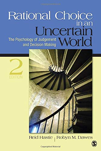 9781412959032: Rational Choice in an Uncertain World: The Psychology of Judgment and Decision Making