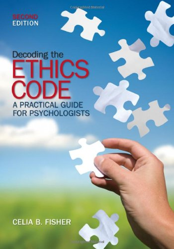 9781412959162: Decoding the Ethics Code: A Practical Guide for Psychologists