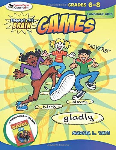 9781412959278: Engage the Brain: Games,  Language Arts, Grades 6-8