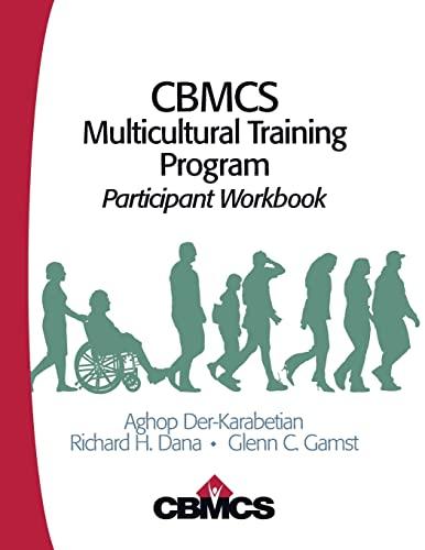 9781412959452: CBMCS Multicultural Training Program: Participant Workbook