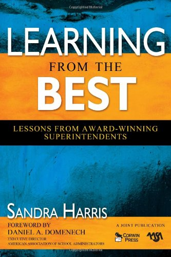 9781412959834: Learning From the Best: Lessons From Award-Winning Superintendents