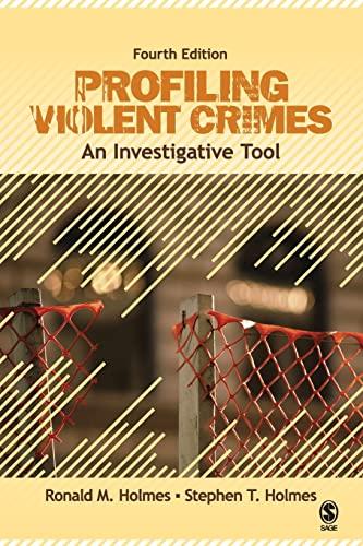 9781412959988: Profiling Violent Crimes: An Investigative Tool