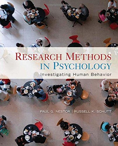 9781412960496: Research Methods in Psychology: Investigating Human Behavior