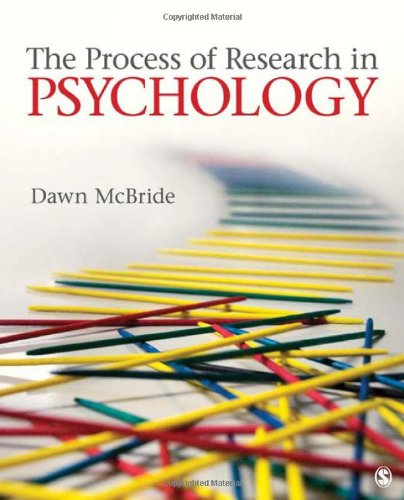 9781412960786: The Process of Research in Psychology