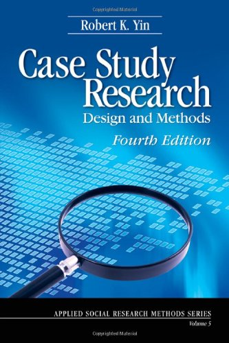 9781412960991: Case Study Research: Design and Methods (Applied Social Research Methods)