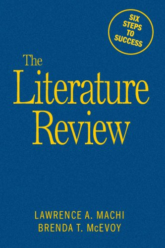 9781412961349: The Literature Review: Six Steps to Success