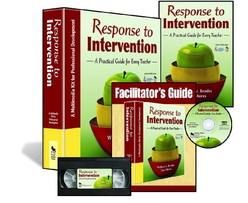 Response to Intervention : A Multimedia Kit for Professional Development: Bender, William N., ...