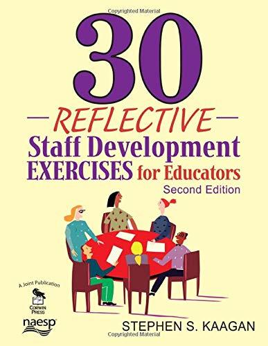9781412963022: 30 Reflective Staff Development Exercises for Educators