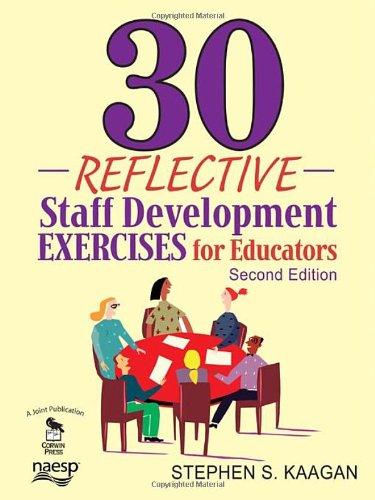 9781412963039: 30 Reflective Staff Development Exercises for Educators