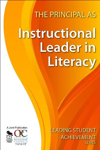 9781412963084: The Principal as Instructional Leader in Literacy