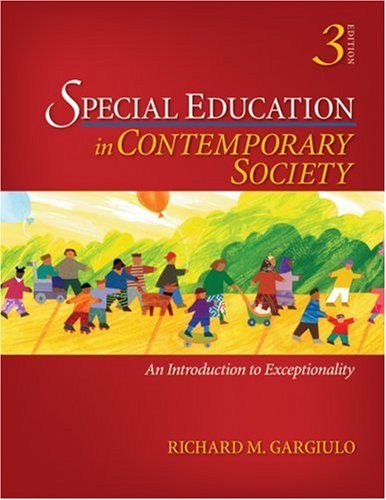 9781412963176: Special Education in Contemporary Society: An Introduction to Exceptionality, 3rd Edition