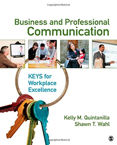 9781412964722: Business and Professional Communication: KEYS for Workplace Excellence