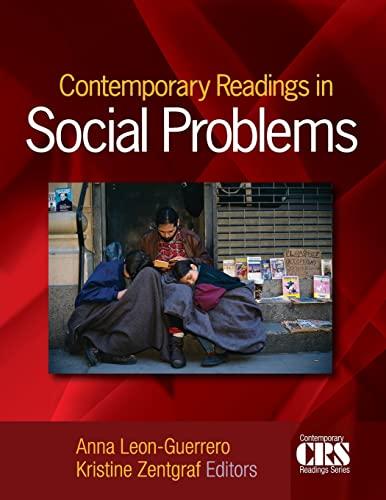Contemporary Readings in Social Problems: Anna Y. Leon-Guerrero