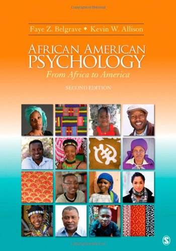 9781412965552: African American Psychology: From Africa to America