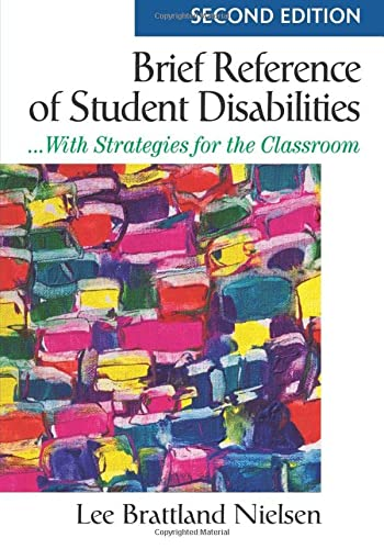 9781412966337: Brief Reference of Student Disabilities: ...With Strategies for the Classroom