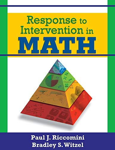 9781412966351: Response to Intervention in Math
