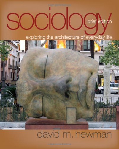 9781412966696: Sociology: Exploring the Architecture of Everyday Life, Brief Edition