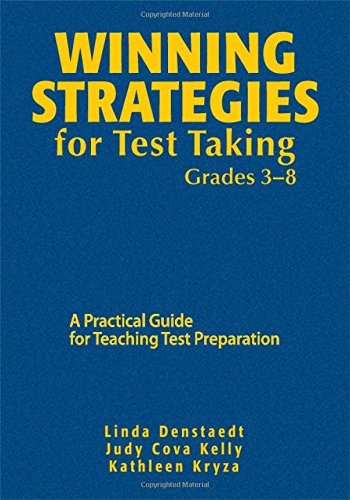 9781412967020: Winning Strategies for Test Taking, Grades 3-8: A Practical Guide for Teaching Test Preparation