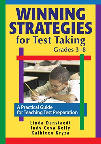 9781412967037: Winning Strategies for Test Taking, Grades 3-8: A Practical Guide for Teaching Test Preparation