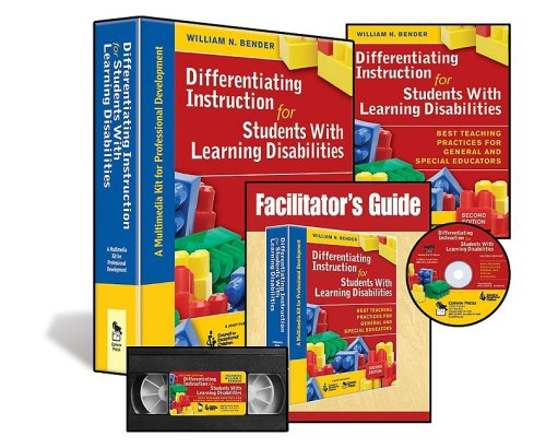 9781412967211: Differentiating Instruction for Students With Learning Disabilities (Multimedia Kit): A Multimedia Kit for Professional Development