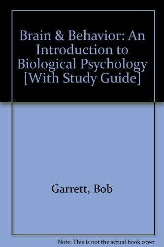 9781412968607: BUNDLE: Brain and Behavior, Second Edition + Student Study Guide