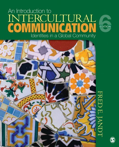 9781412970105: An Introduction to Intercultural Communication: Identities in a Global Community