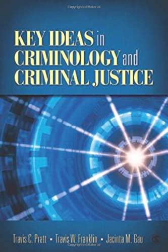 9781412970143: Key Ideas in Criminology and Criminal Justice