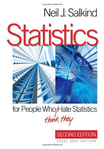 9781412971027: Statistics for People Who (Think They) Hate Statistics: Excel 2007 Edition