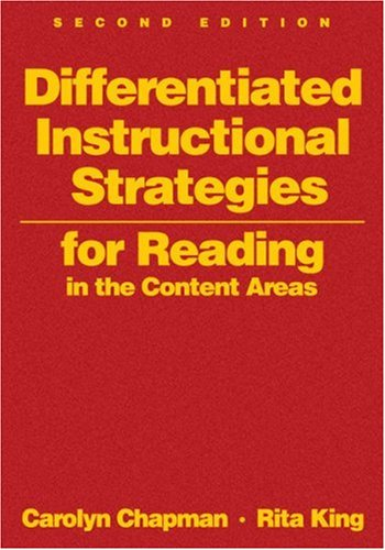 9781412972291: Differentiated Instructional Strategies for Reading in the Content Areas